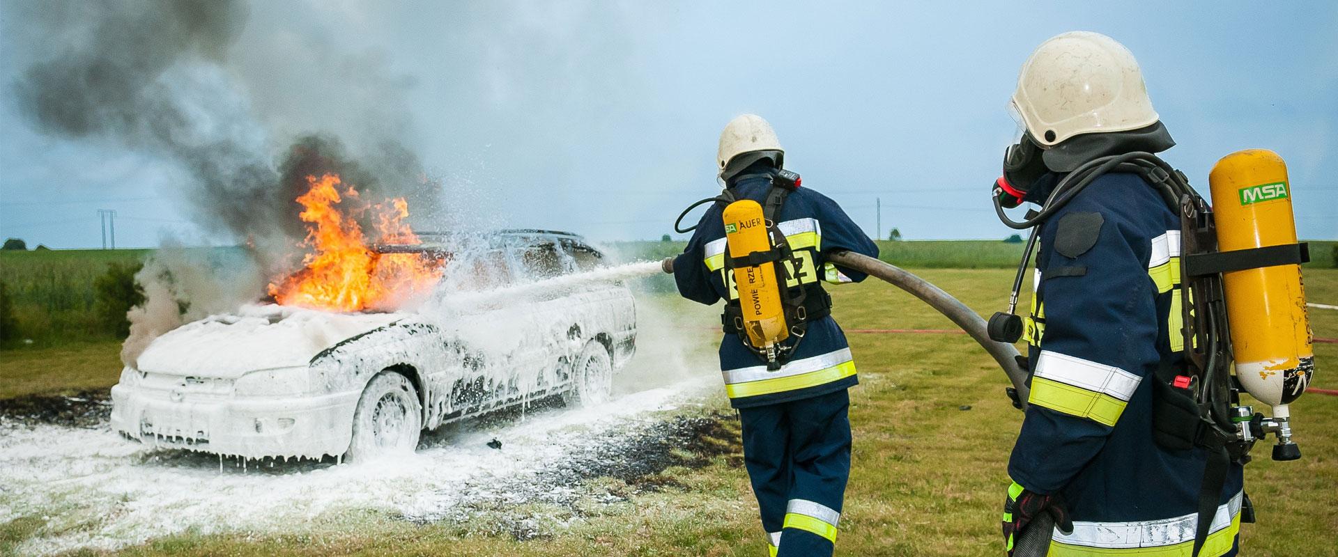 Asortyment przeciwpożarowy i strażacki
